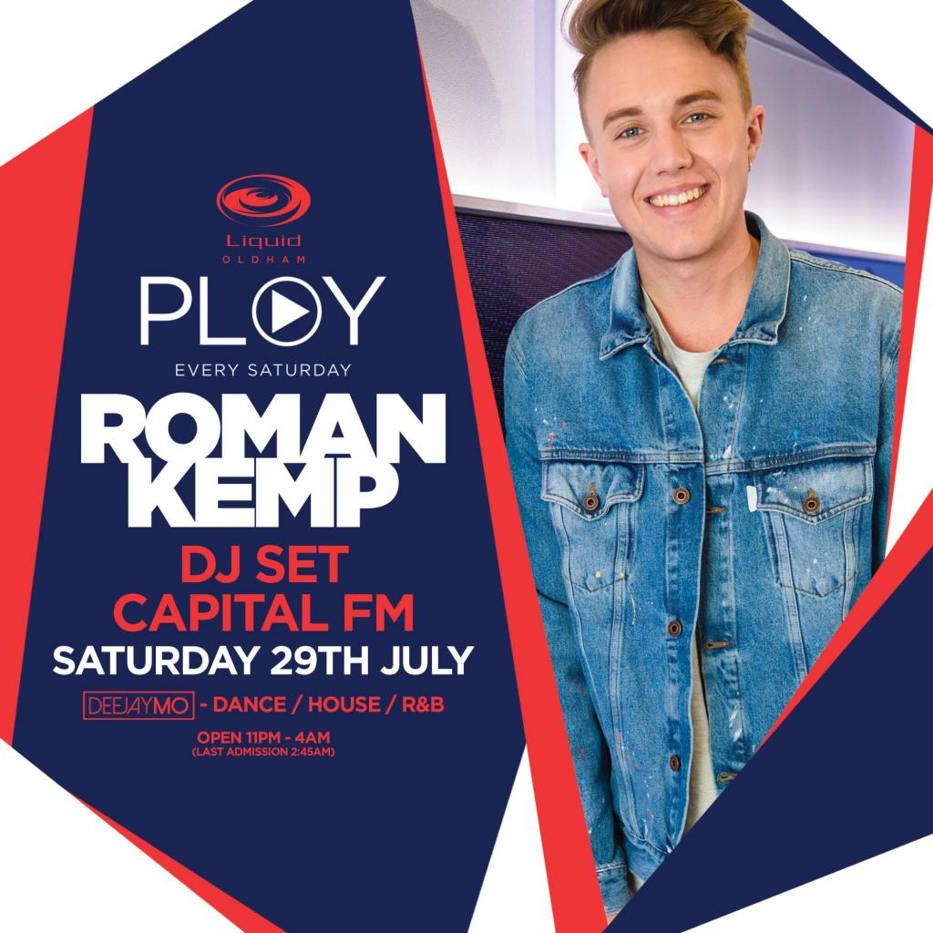 Capital FM's Roman Kemp DJ Set | Licklist