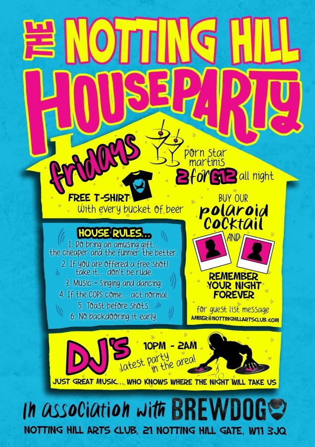 The Notting Hill House Party