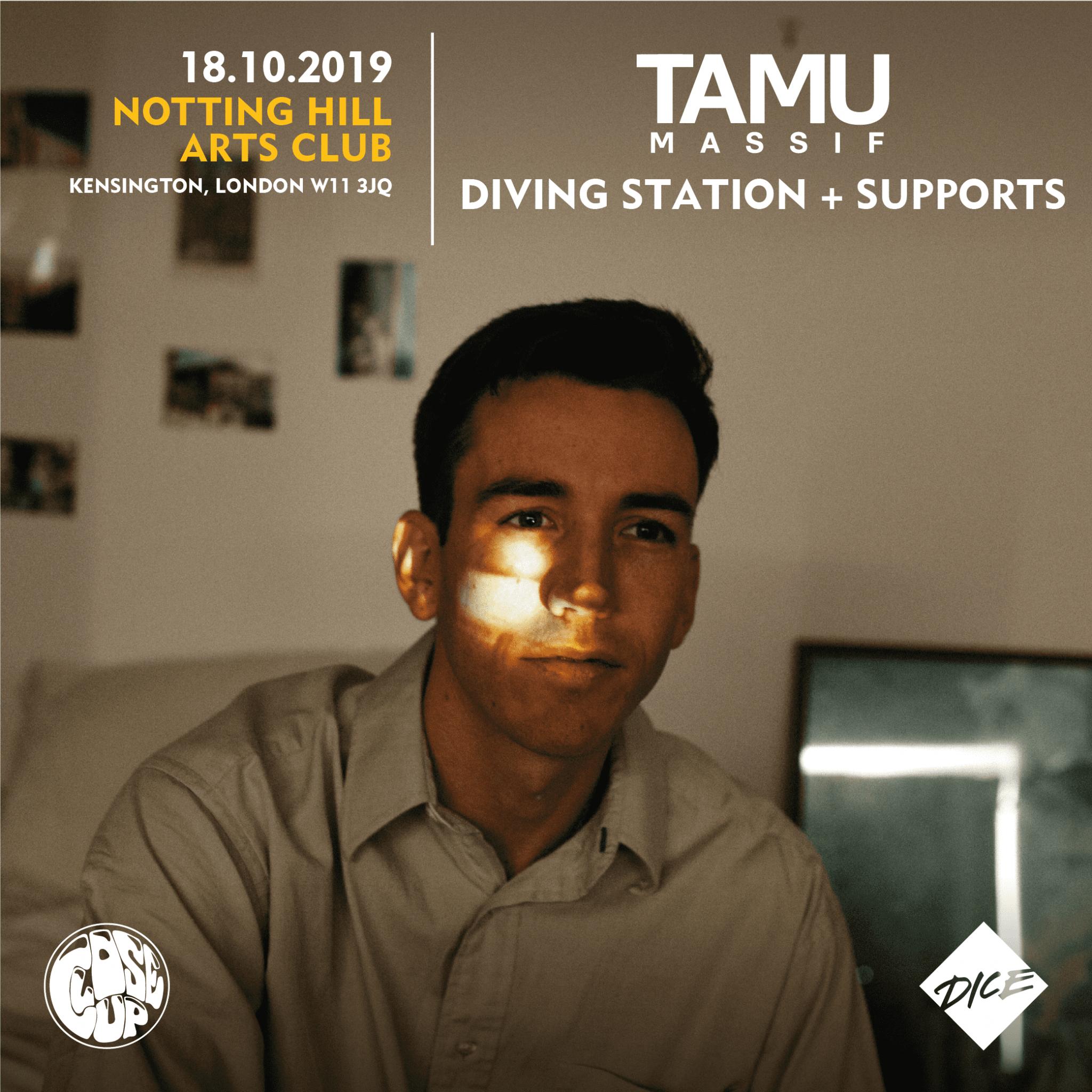 CloseUp Presents :: Tamu Massif + Support